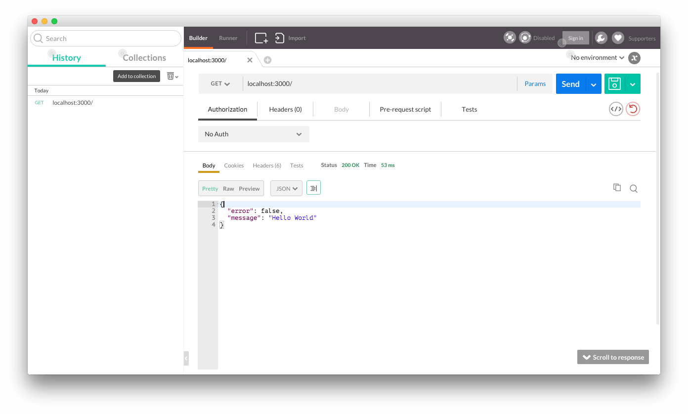 Build a RESTful API using Node and MongoDB   Code for geek
