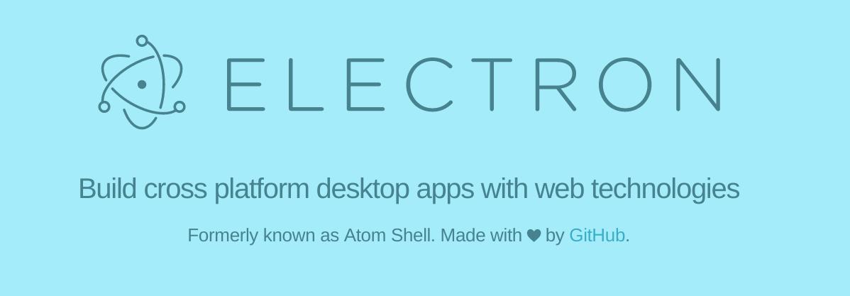 Electron desktop application development