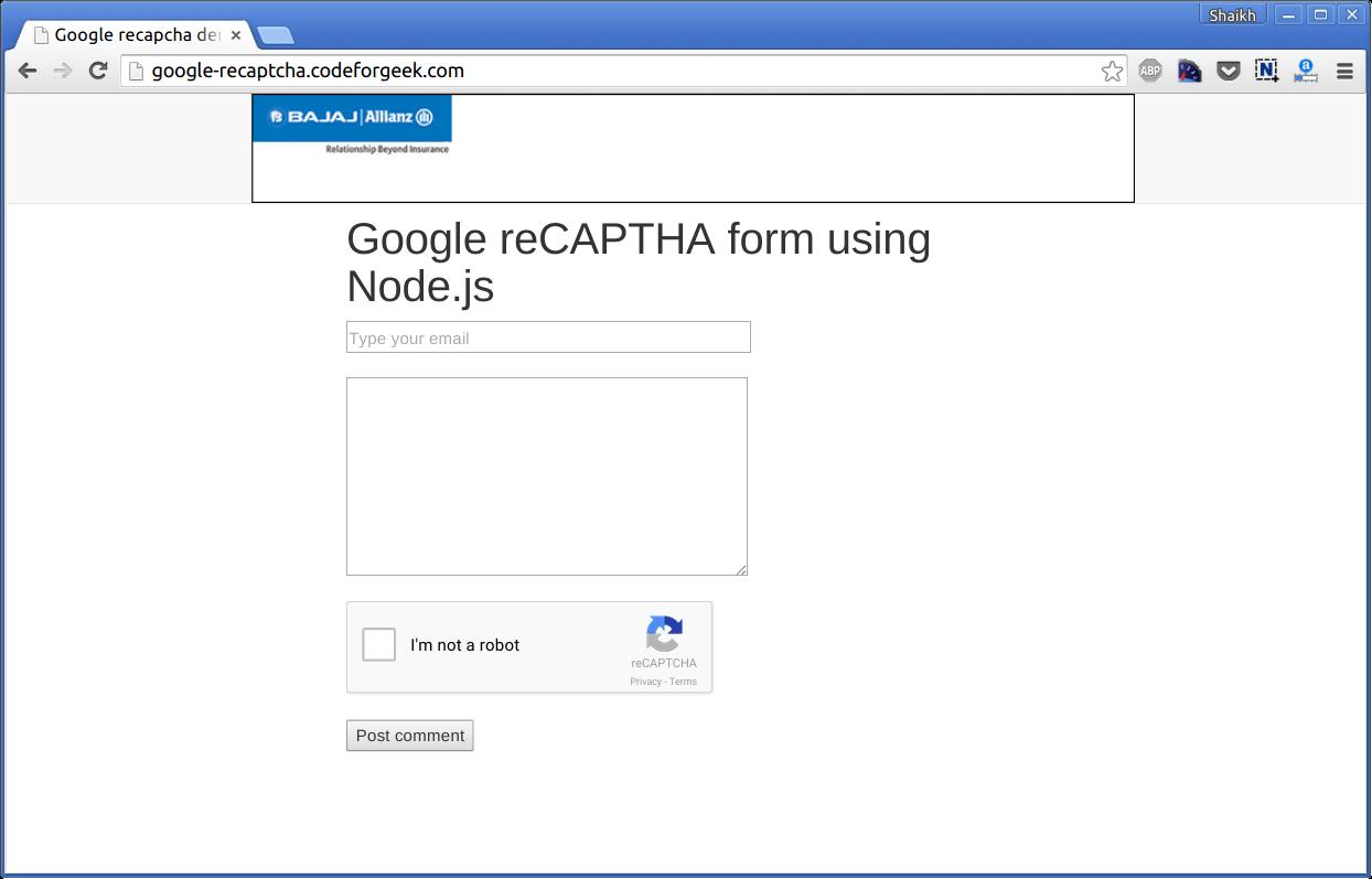 Hosting Node.js app