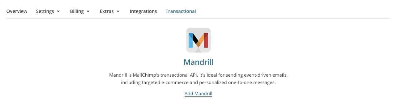 Nodejs and Mandrill