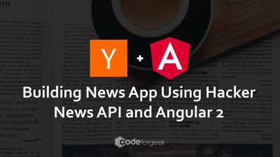 Angular2 App using hackernews API