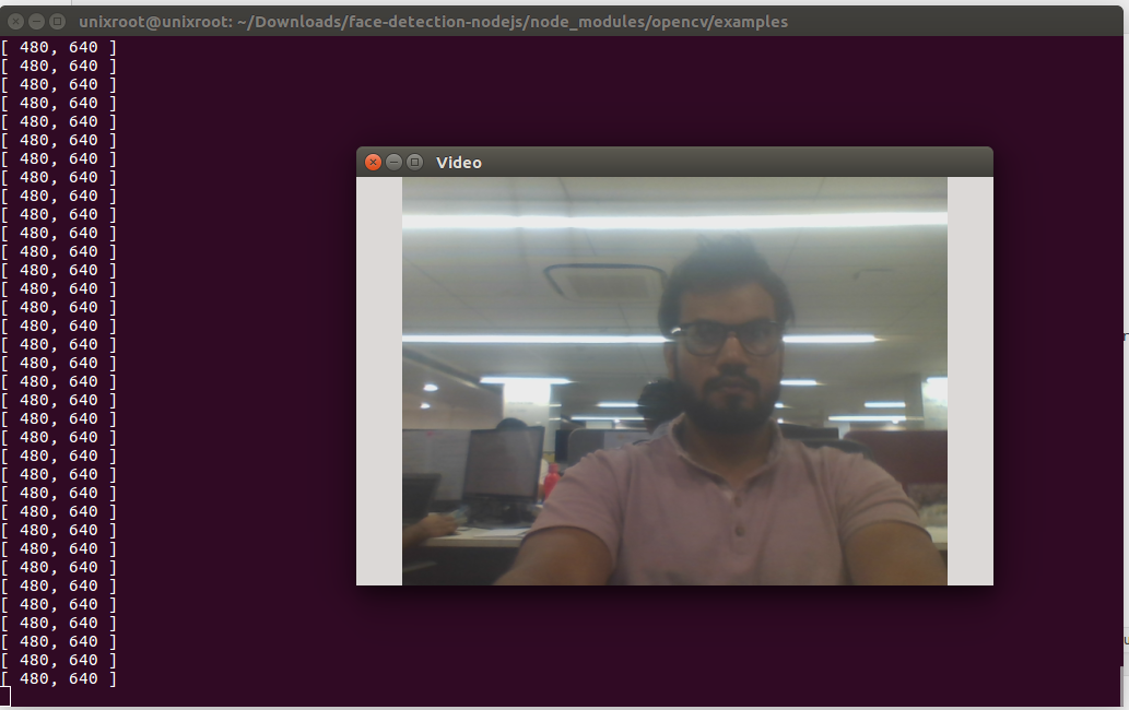 Detect Faces using Nodejs and OpenCV